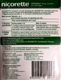 Nicorette inhalator 15mg 20 catridges 1 mouthpiece