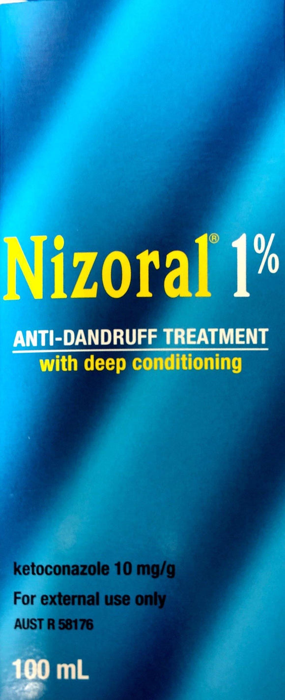 Nizoral 1% Antidandruff Treatment with Deep Conditioning 100ml