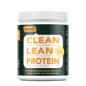 NUZEST Clean Lean Protein 500gm Smooth Vanilla