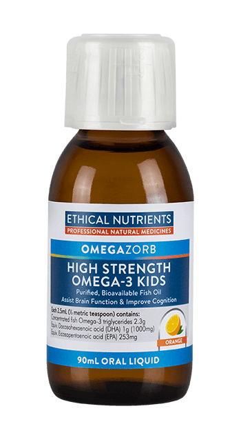 Ethical Nutrients OMEGAZORB High Strength Omega-3 KIDS 90 ml Oral Liquid - DominionRoadPharmacy