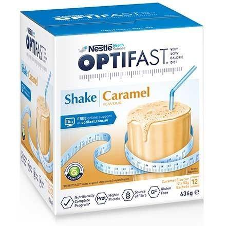 Optifast VLCD Milkshake Caramel 12*53gm