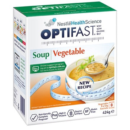 Optifast Vegetable Soup VLCD 53 gm x 8 Sachets