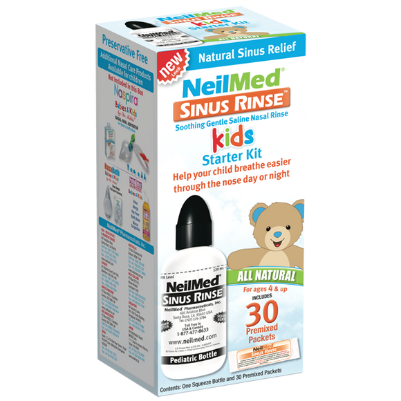 Neilmed Sinus Rinse Nasal Wash Pediatric kit