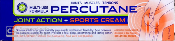 Percutane Joint Action + Sports Action Cream 75g