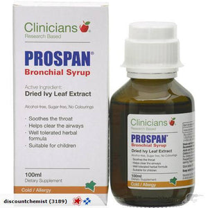 Clinicians Prospan Bronchial Syrup 100 ml - DominionRoadPharmacy