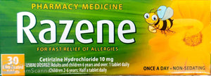Razene For Fast Relief Of Allergies