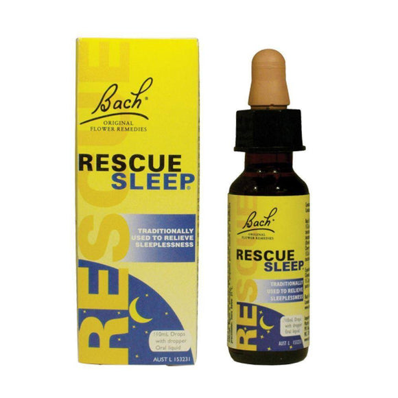BACH RESCUE SLEEP DROPS 10 ML - DominionRoadPharmacy