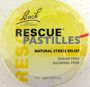 Bach Rescue Remedy Pastilles Original 50g - DominionRoadPharmacy