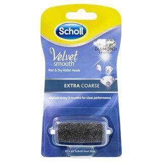 Scholl Velvet Smooth Wet & Dry Roller Heads Extra Coarse