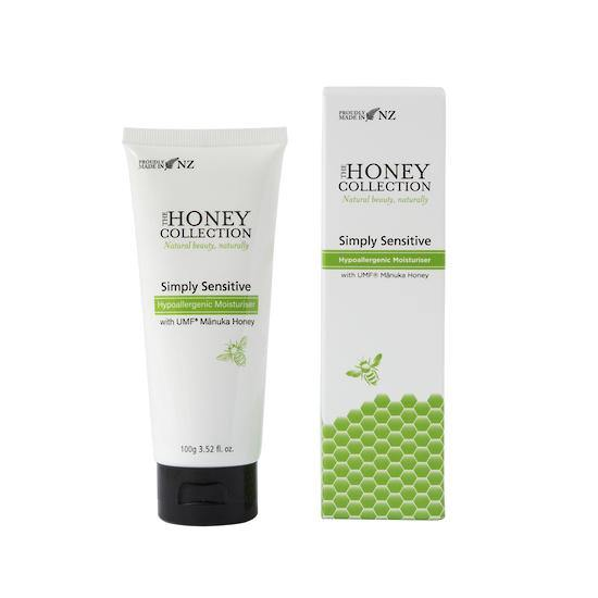The Honey Collection Simply Sensitive Hypoallergenic Face Moisturiser 100g