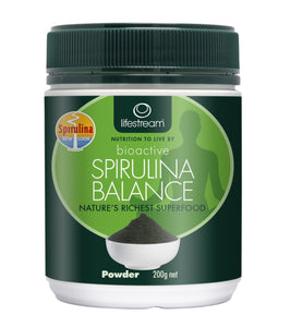 Lifestream Bioactive Spirulina Balance 200gm Powder - DominionRoadPharmacy