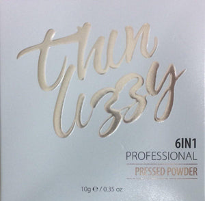 Thin Lizzy 6-in-1 Professional Pressed Powder 10g