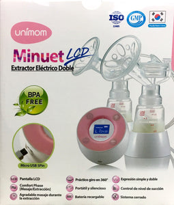 Unimom Minuet Electronic Breast Pump Free Switch Kit Free Storage Bags 60 pack