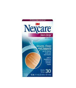 Nexcare Steri Strip 6mm*100mm 30's