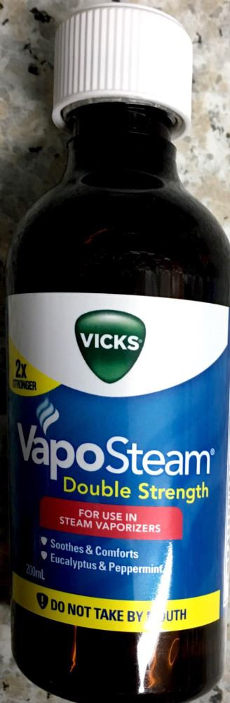 Vicks Vapo steam Double Strength Inhalant 200ml