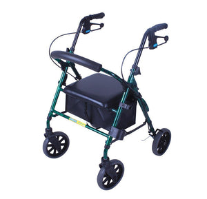 Mobilis Plus walking frame - flame green