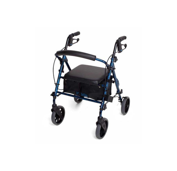 Mobilis Plus walking frame - Flame Blue