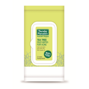 Thursday Plantation Tea Tree Face Wipes For Acne 25's