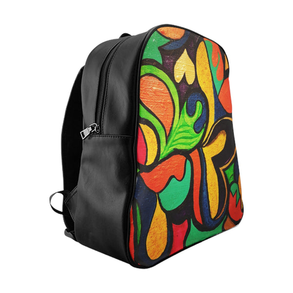 """Hearts All Over The World"" Backpack"