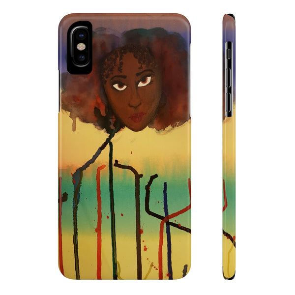 Lady Drop Phone Cases