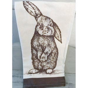 Farmhouse- Bunny Tea Towel