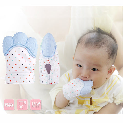 1 pcs Silicone Teether