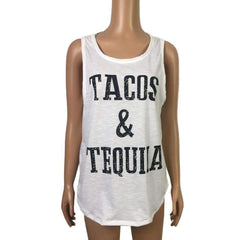 Tacos And Tequila Sexy Sleeveless  T-Shirt