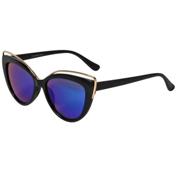 Women - Accessories - Sunglasses - Mechaly Cat Eye Style Sunglasses