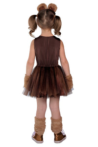 Brown Bear Tutu Dress