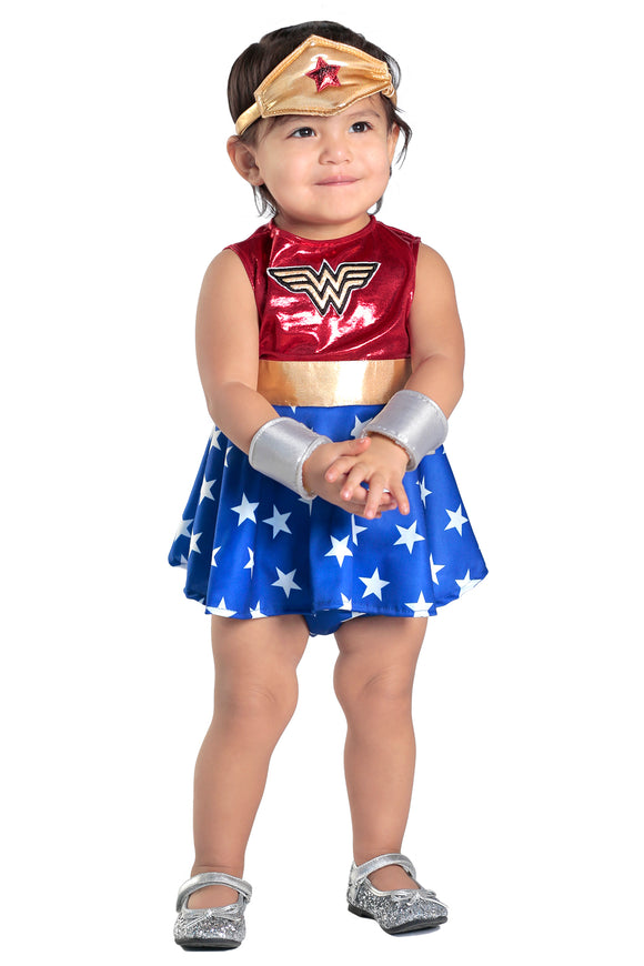 Wonder Woman Dress & Diaper Cover