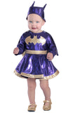 Batgirl Dress & Diaper Cover