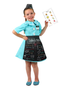 Waitress Dress Up Set