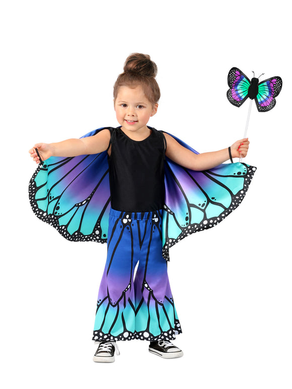 Child Blue Butterfly Pants