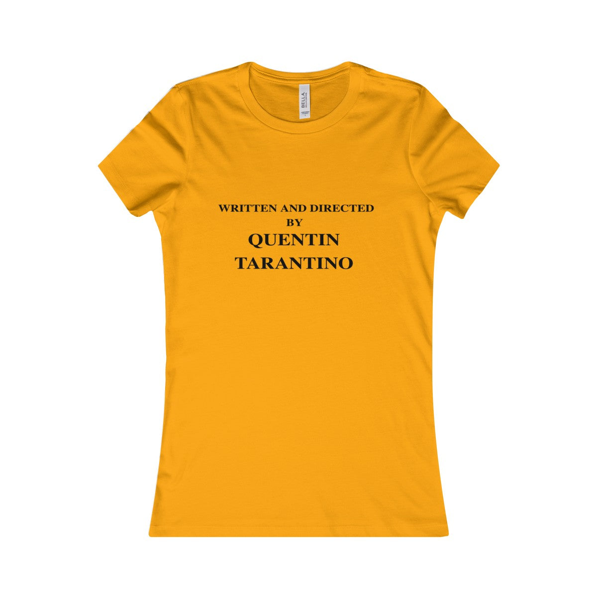 Vintage Women's Written and Directed by Quentin Tarantino Shirt (Kill Bill) by Runwoodie