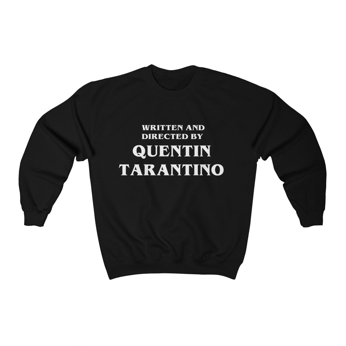Black Vintage Kill Bill Written and Directed by Quentin Tarantino Crewneck Sweater