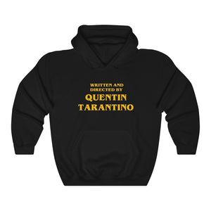 Written and Directed by Quentin Tarantino Vintage Style Unisex Heavy Blend Hoodie