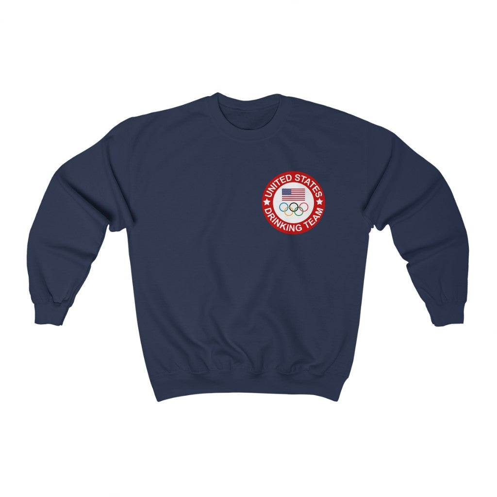 USA Drinking Team Olympic Crewneck Sweater