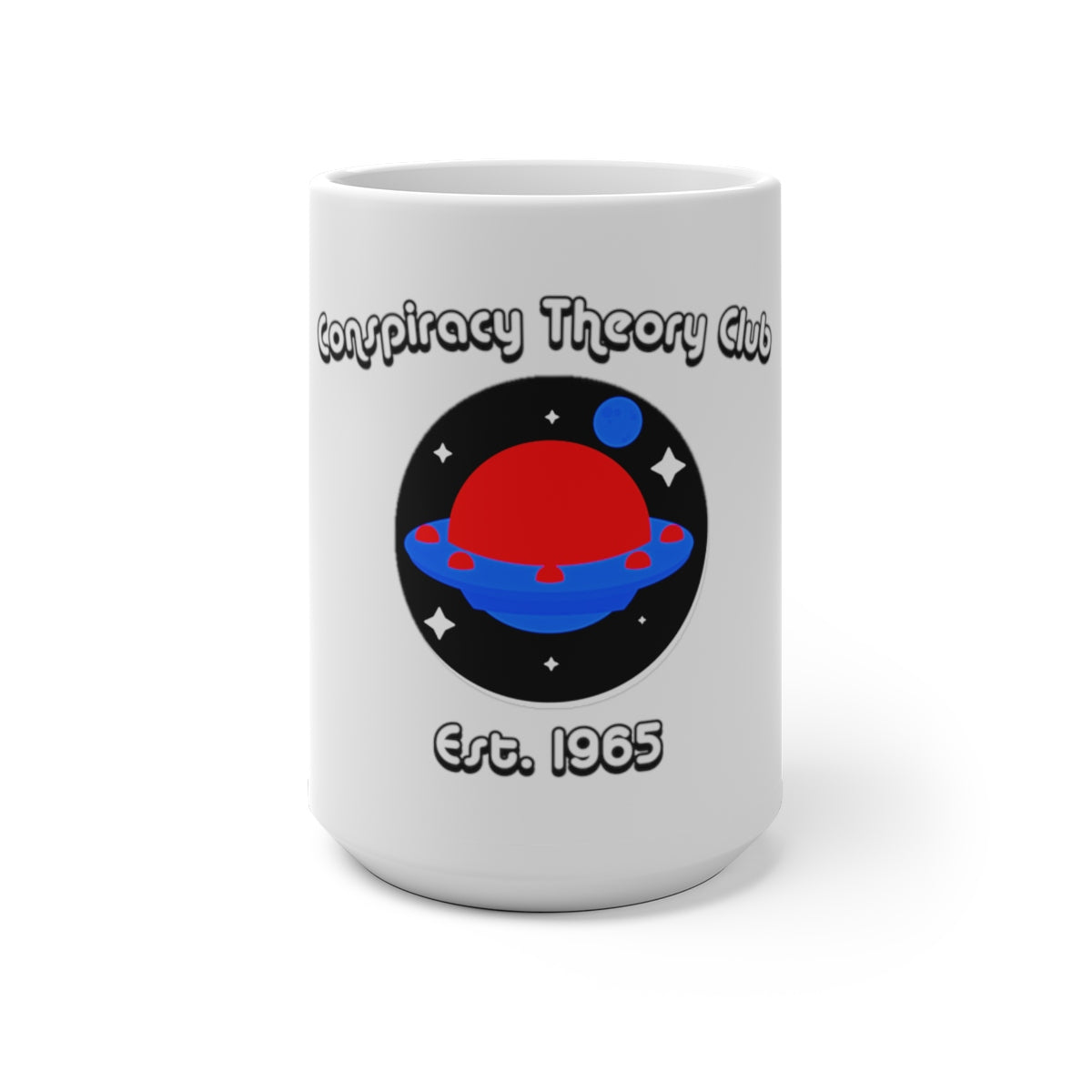 Conspiracy Theory Club Color Changing Mug