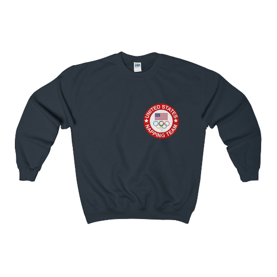 USA Napping Team Olympic Crewneck Sweater