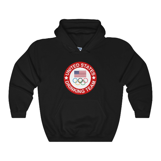 USA Olympic Drinking Team Hoodie