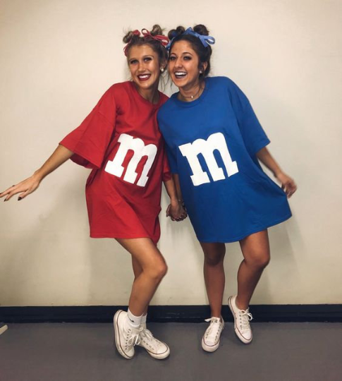 M&M Costume Unisex Tee (Halloween Costume)