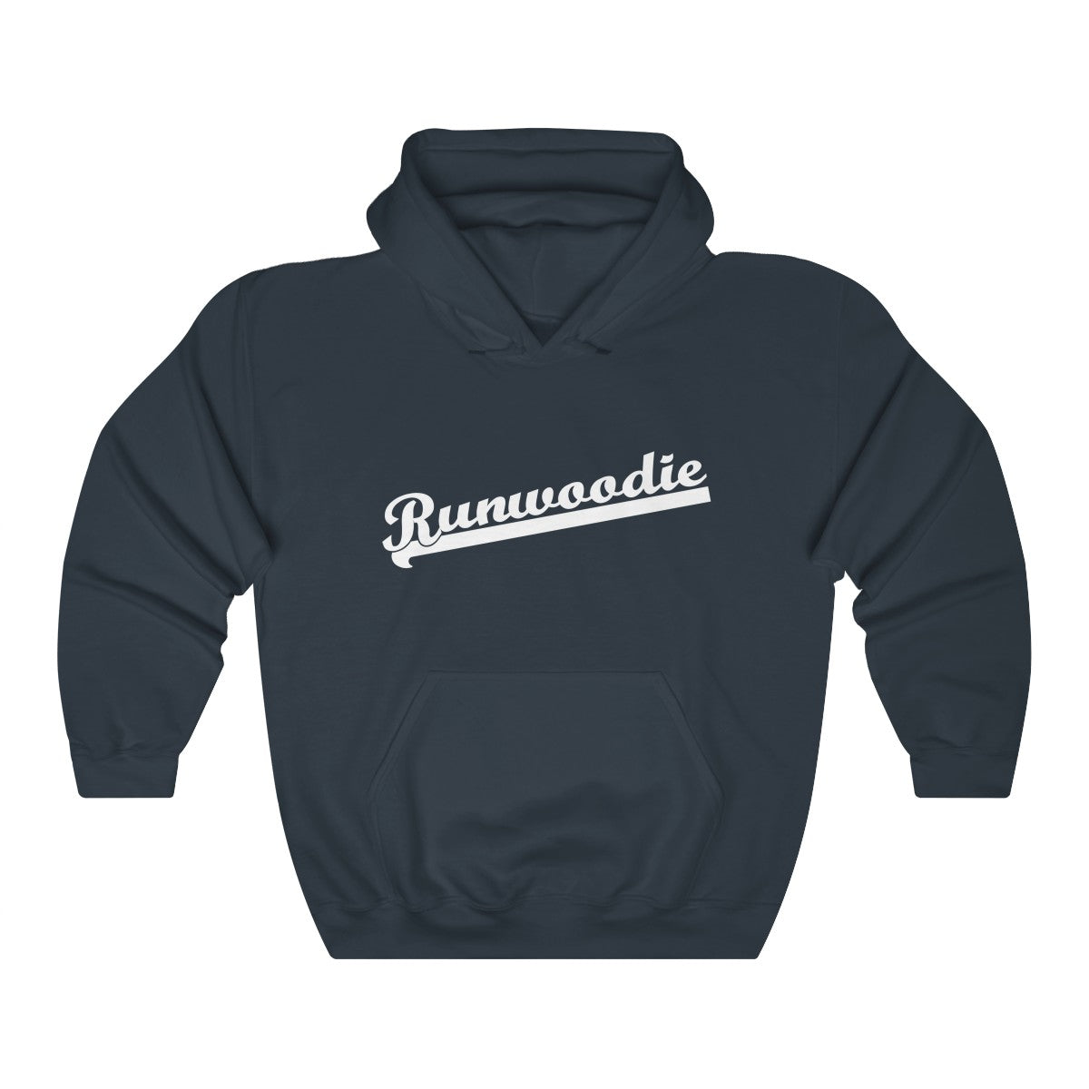 Vintage Runwoodie Hooded Sweatshirt