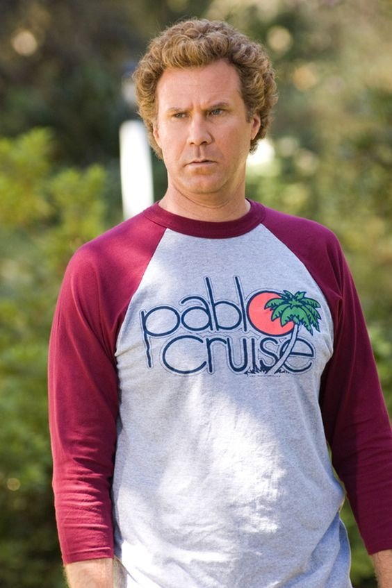 Step Brother Movie Will Ferrel's Pablo Cruise Long 3/4 Sleeve T-Shirt