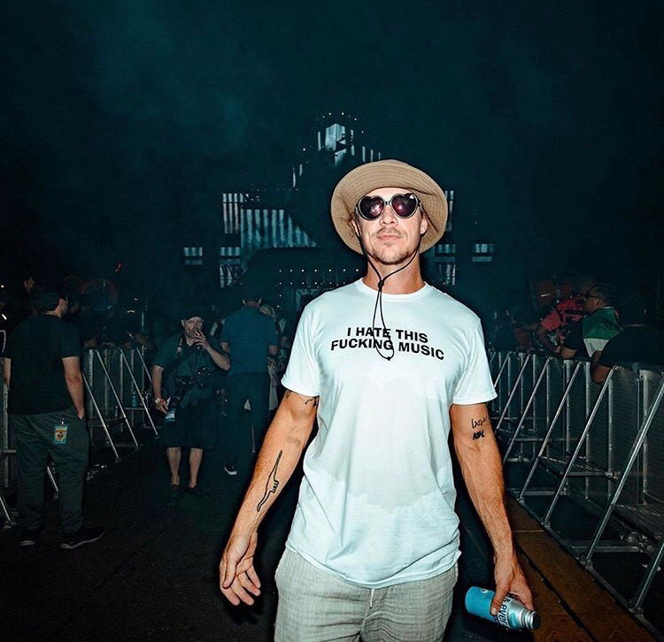 I Hate This Fucking Music Diplo T-Shirt