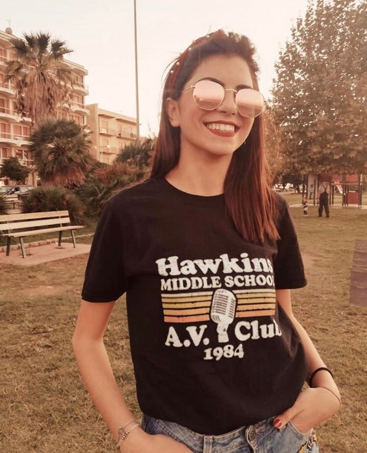 Hawkins AV Club Stranger Things T-Shirt