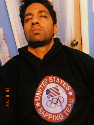 USA Olympic Napping Team Hoodie