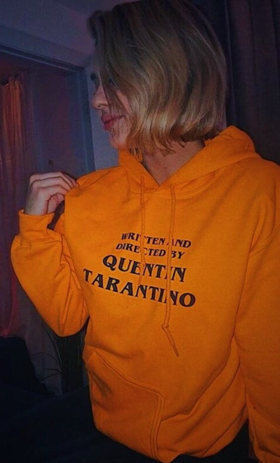 Vintage Written and Directed by Quentin Tarantino Kill Bill Unisex Hoodie