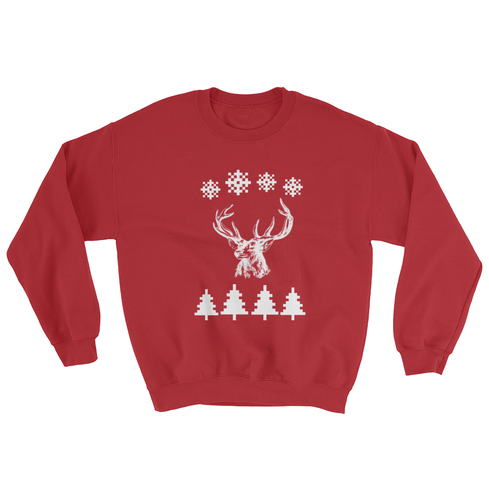 Mystic Reindeer Ugly Christmas Sweater