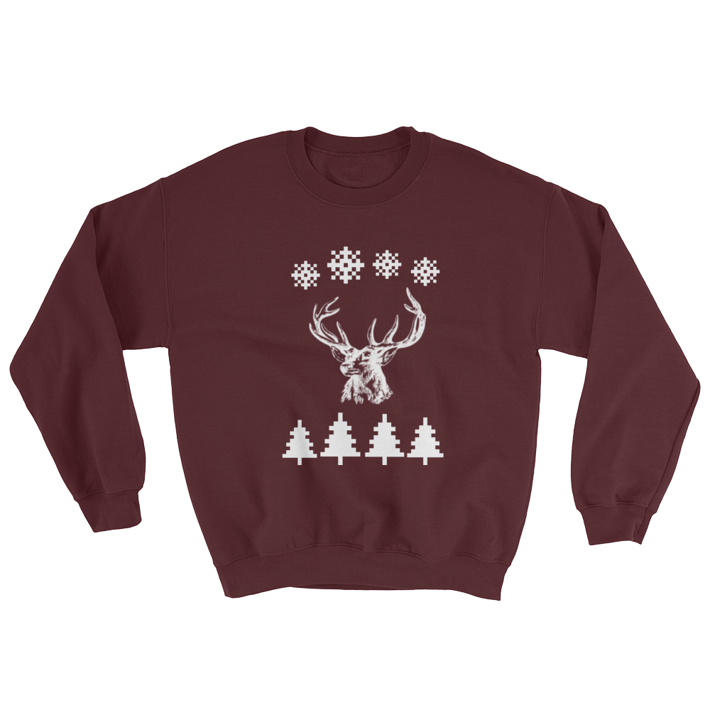 Mystic Deer Ugly Christmas Sweater