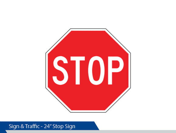 Stop Sign, 4 Inch Letters, Traffic Sign, Decorative Signage, Personalized Signs, Street Sign On Fluted Pole, Custom Street Signs, Decorative Street Signs, Brandon Industries Sign, Best Quality Street Sign